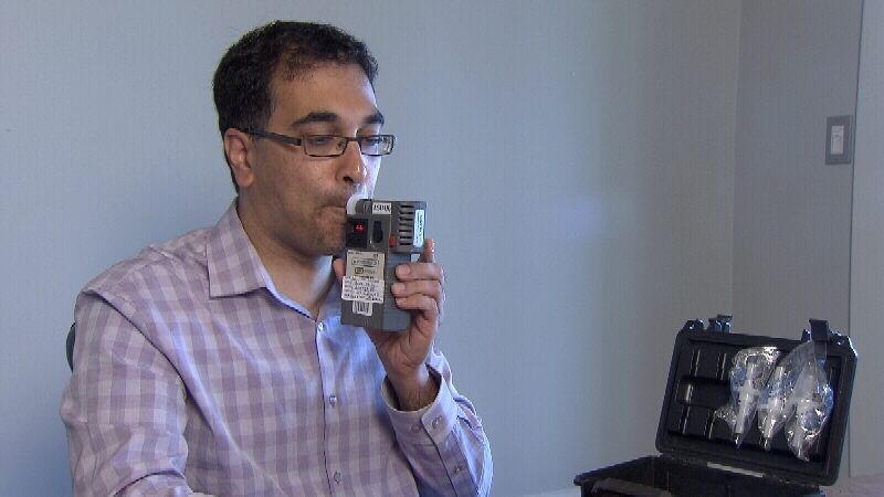 Co-inventor Dr. Raj Attariwala is a radiologist who has a background in biomedical engineering. (CTV)