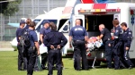 Paramedics respond to an emergency in this June 2014 file photo. (CTV)