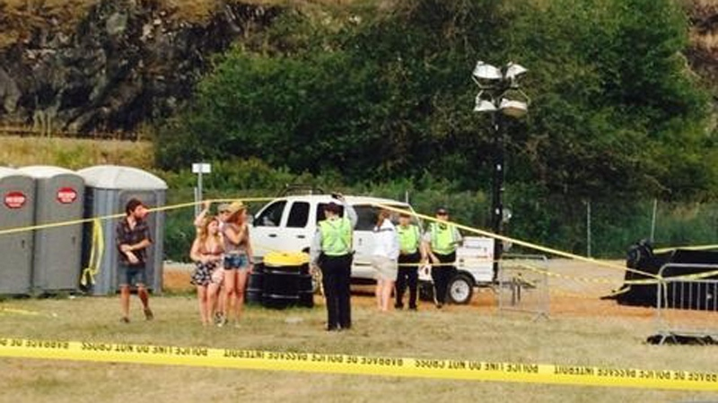 One person has died at the Pemberton Music Festival in what homicide investigators are calling a suspicious death. (Provided)