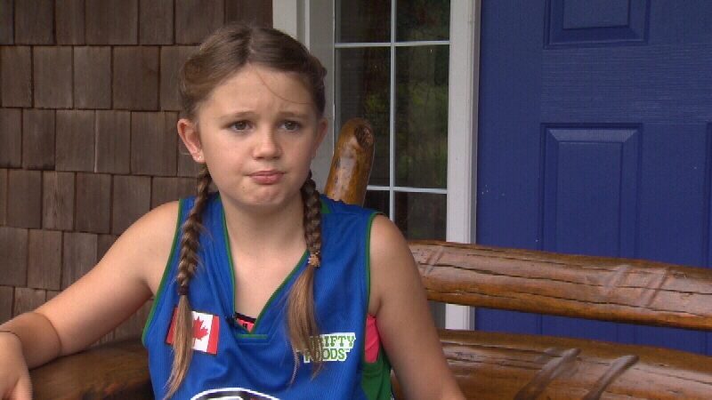 11-year-old Harriette Cunningham hopes to convince the province to remove sex from all birth certificates.