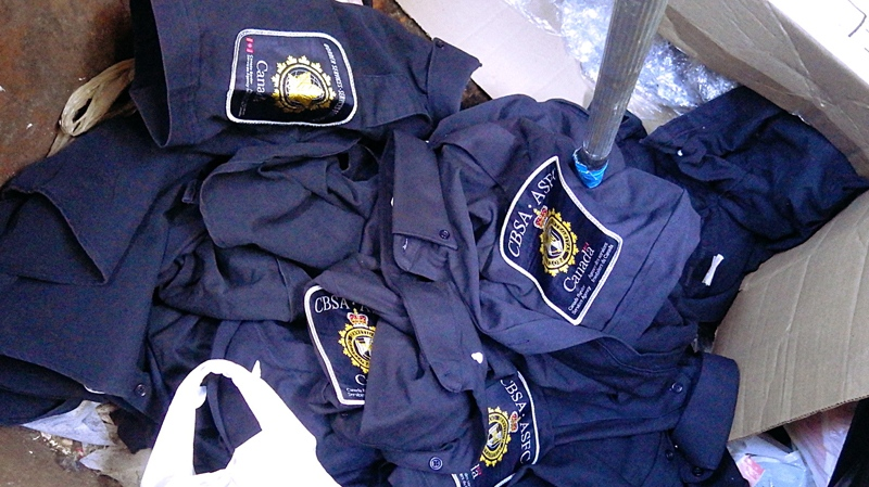 Discarded Cbsa Uniforms Found In Vancouver Dumpster Ctv