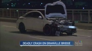 CTV Vancouver: Deadly crash on Granville Bridge
