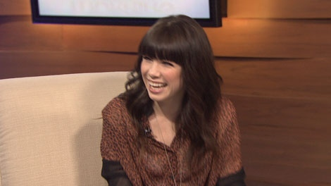 "Mission, B.C.'s homegrown pop star Carly Rae Jepsen stops by CTV Morning Live to discuss her new single, ""Call Me Maybe."" Jan. 23, 2012."