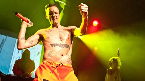 South African rap group Die Antwoord performed at the Commodore Ballroom on Sunday, Feb.19, 2012. Feb. 19, 2012. (Anil Sharma for ctvbc.ca)