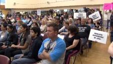 Surrey rally