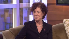 Dr. Karen Gelmon answers breast cancer questions with CTV's Keri Adams. March 5, 2012.