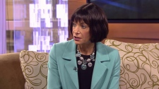 Dr. Paula Gordon, clinical professor of radiology at the University of British Columbia, answers cancer questions on CTV News. March 8, 2012. (CTV)