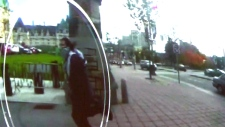 Michael Zehaf-Bibeau in RCMP security footage
