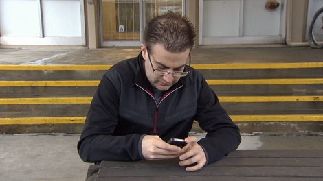 Philipp Postrehovsky was hit with $500 in roaming fees on his last cell phone bill after taking two trips south of the border. (CTV)