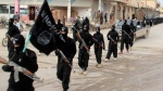 Fighters from the al-Qaeda linked Islamic State posted on a militant website on Jan. 14, 2014 (AP / Militant Website)
