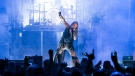 Mötley Crüe's 'Final Tour' alongside Alice Coopers at Vancouver's Rogers Arena was two hours' worth of high-energy rock complete with explosions and pyrotechnics. (Anil Sharma/CTV)
