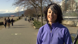 Dietitian and exercise psychologist Ashley Charlebois says walking is an easy way to improve your health. (CTV)