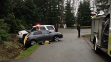 Body found in vehicle in South Surrey