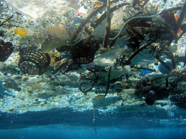 Ocean garbage patch