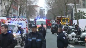 The Kouachi brothers led police on a two-day manhunt after attacking Charlie Hebdo, then hid out in a printing plant. Police surrounded the building, and the brothers were killed in a shootout after a daylong siege.