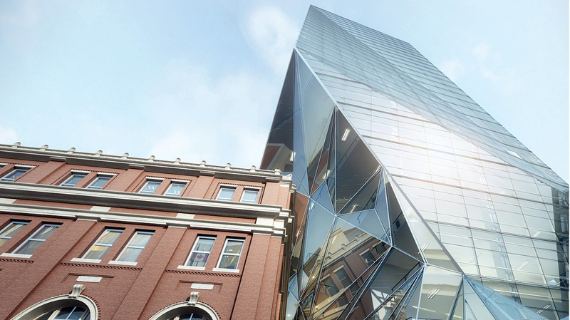 26 storey origami tower proposed for vancouver s for Vancouver architecture firms
