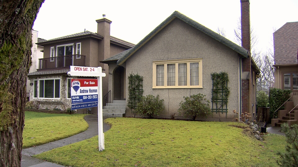 The typical detached property in Metro Vancouver increased 8.4 per cent from January 2014 to $1,010,000.  (CTV)