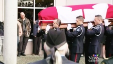 Surrey firefighter's funeral draws attention to PTSD
