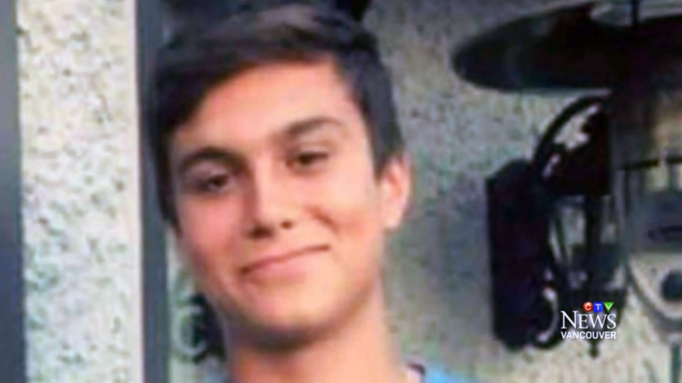 Luka Gordic was fatally stabbed while staying in Whistler on May 17, 2015.