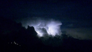 CTV Vancouver: Lightning storm lights up skies