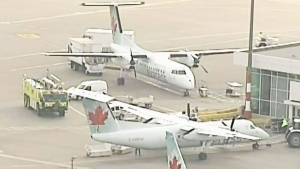 CTV Vancouver: Smoke on Air Canada flight