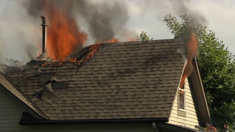 Fire Destroys Home In Maple Ridge Ctv Vancouver News