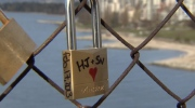 The city's park board is moving ahead with a plan to permanently install love locks, but a location has yet to be decided.