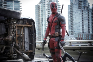 This photo provided by Twentieth Century Fox shows Ryan Reynolds as Deadpool in 'Deadpool.' (Joe Lederer / Twentieth Century Fox via AP)