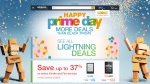 Amazon.ca's front page is shown on 'Prime Day,' Wednesday, July 15, 2015.