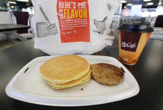 McDonald's Canada offers all-day breakfast at some