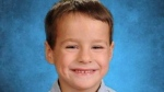 James Christian McIntosh, 5, was struck and killed by an off-duty police officer in Penticton on Sept. 15, 2015.