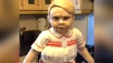 Creepy or cute? Life-sized Prince George cake reve