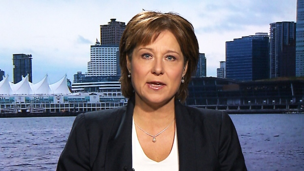 British Columbia Premier Christy Clark says her province is looking forward to welcoming new refugees while on CTV's Question Period on Sunday, Nov. 15, 2015.
