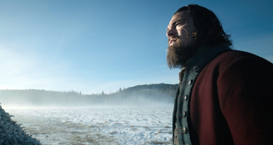 This photo provided by Twentieth Century Fox shows, Leonardo DiCaprio in a scene from the film, 'The Revenant.'