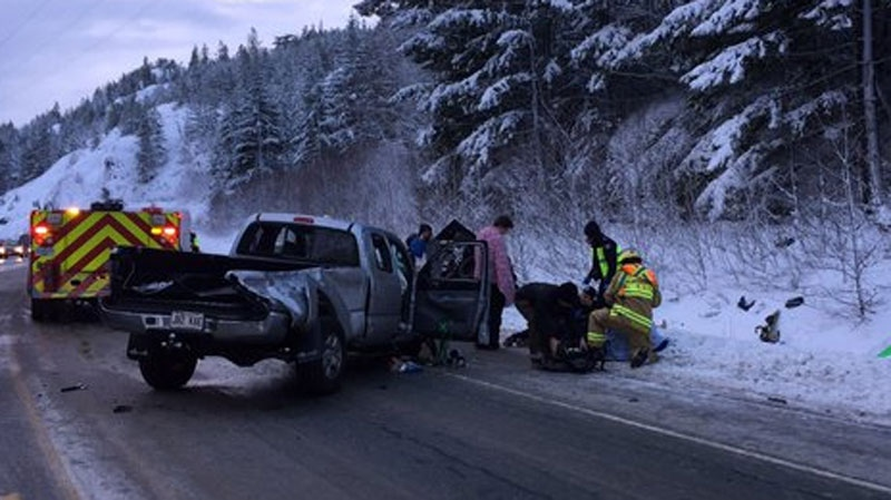 Car Accident Sea To Sky Highway