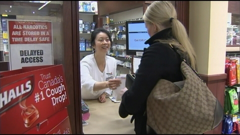 Rewards points will no longer be issued for for pharmacy purchases in B.C. Jan. 27, 2016. (CTV News).