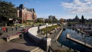 In this file photo, the Fairmont Empress Hotel at the Inner Harbour in downtown Victoria, British Columbia, Canada is shown on Sunday, May 4, 2008. (Deddeda Stemler/THE CANADIAN PRESS)