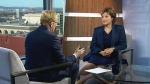 B.C. Premier Christy Clark appears on CTV's Question Period.