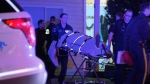 Officers found a 62-year-old man and a 30-year-old woman suffering from what is believed to be stab wounds in Surrey. Feb. 8, 2016. (CTV News).