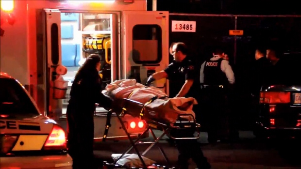 A woman is in hospital after a violent assault in Surrey on Feb. 7, 2016. (CTV News).