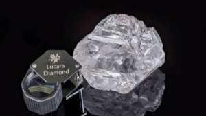 World's second-largest diamond given new name