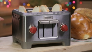 Recommended appliance: Wolf 4 slice toaster