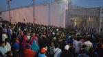 Outside the Topo Chico prison in Monterrey, Mexico, on Feb. 11, 2016. (Emilio Vazquez / AP)