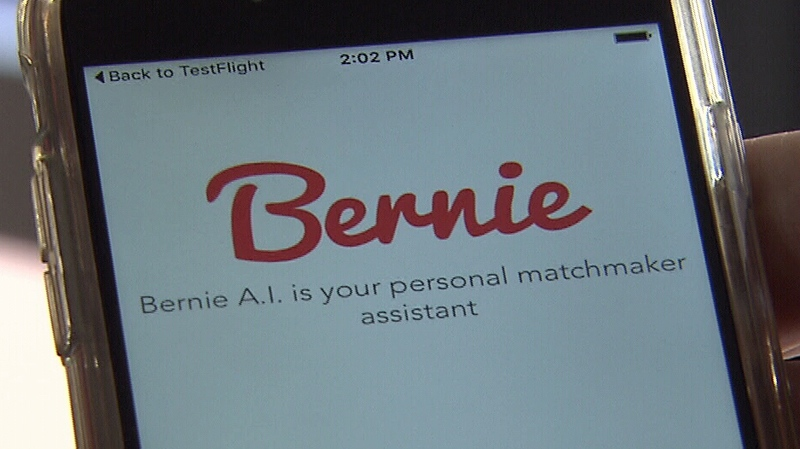 New Bernie dating app