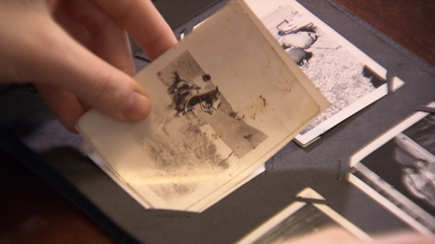 A young woman from Abbotsford is searching for the owner of a photo album her dad found while cleaning out a storage locker. Feb. 13, 2016. (CTV News).