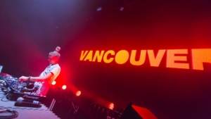Trance music legend Armin Van Buuren headlined the fourth annual Get Together concert at Pacific Coliseum Saturday night, along with Sander Van Doorn, Will Sparks, Sunnery James Ryan Marciano, and Union DJ's. (Photos by Kenny Tai/CTV Vancouver)