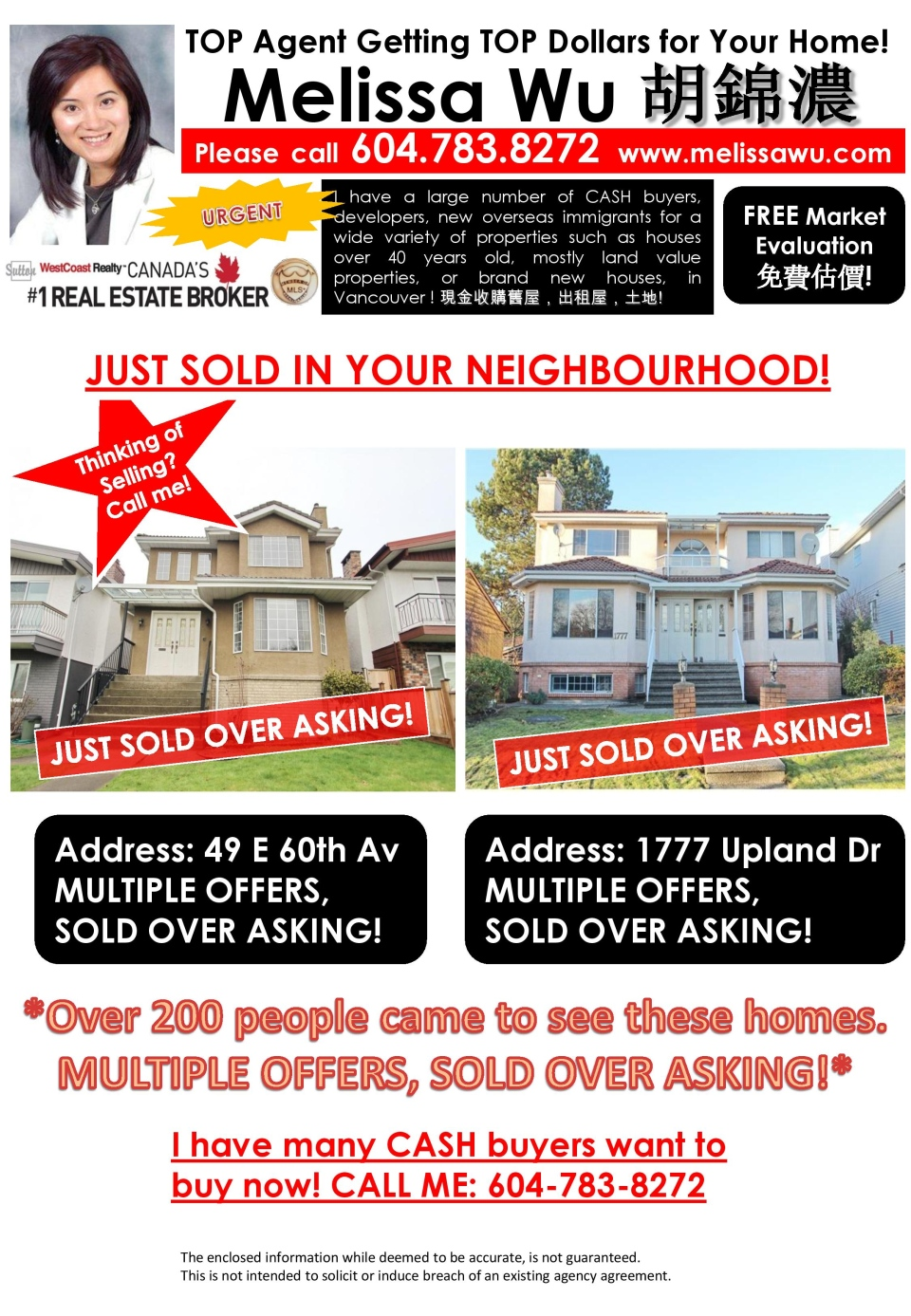 Kiers' flyer isn't the only one Vancouver homeowners have received. (CTV)