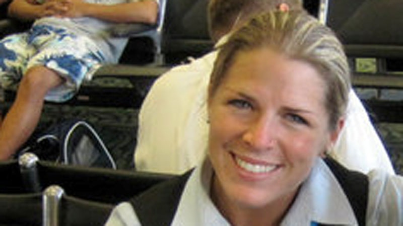 Mandalena Lewis claims she was sexually assaulted by a WestJet pilot in January 2010, while she working as a flight attendant for the airline. (CTV)