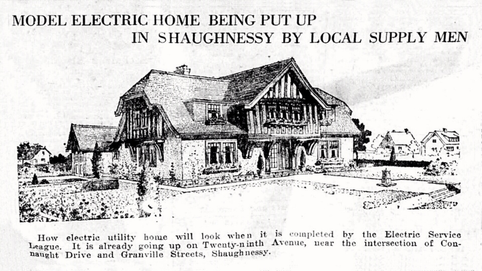 The luxurious home at 1550 West 29th St. was cutting edge in its day, built in 1922 by the same architects who designed City Hall. It was also a model home to showcase the wonders of electricity. (Handout).