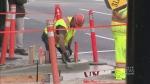 A major road project on the Burrard corridor is ju
